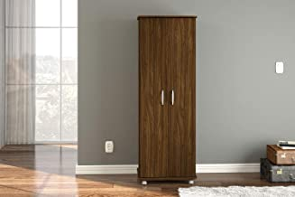 بوليتورنو خزانة خشبية متعدده الاستخدامات ، بني غامق - 3265