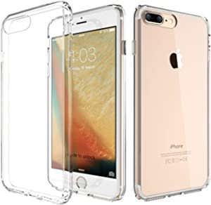 Trands iPhone 7 Plus Clear Case Protective Slim Silicon Clear Case for iPhone 7 Plus