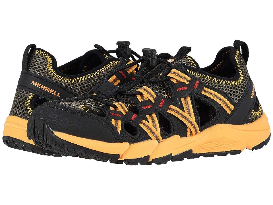 Merrell Kids Hydro Choprock Shandal (Toddler/Little Kid/Big Kid) (Black/Orange) Boys Shoes
