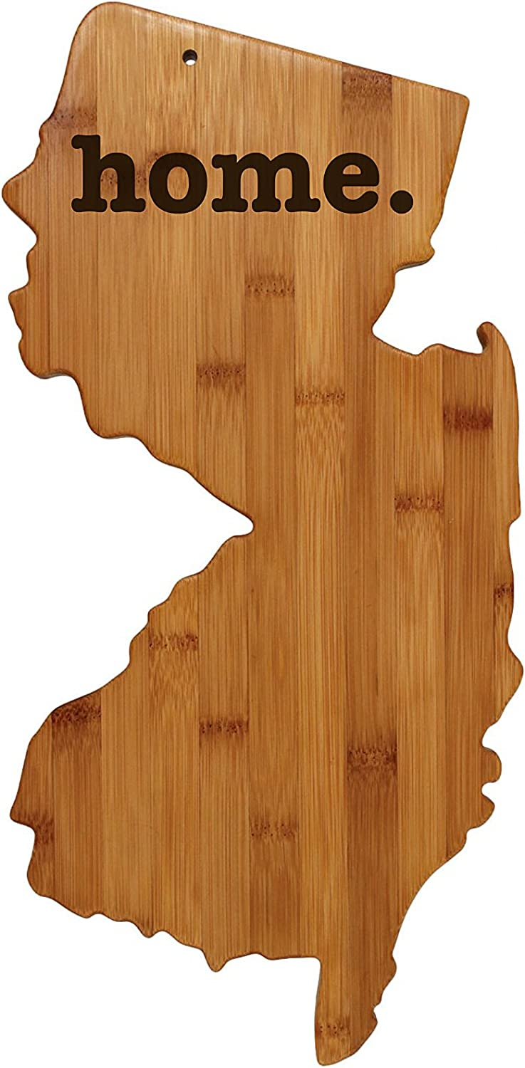 New latest Jersey Shaped Bamboo Wood Perso Engraved Board Cutting Columbus Mall home.