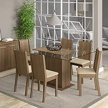 Conjunto Sala de Jantar Mesa e 6 Cadeiras Molly Madesa