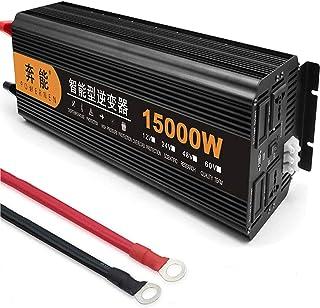 Zuivere sinusomvormer 3200W/4000W/5000W/6000W/8000W/9000W/12000W/15000W Omvormer Spanningsomvormer DC 12V/24V naar AC 230V