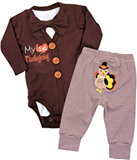 Best 1st thanksgiving outfits for baby boy Reviews