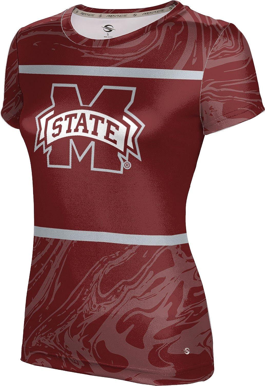 ProSphere Mississippi State University Girls' Performance T-Shirt (Ripple)