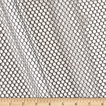 Carr Textile Air Mesh Gray Fabric by The Yard,