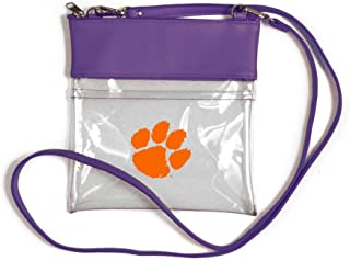 Littlearth NCAA Clemson Tigers Unisex Ncaancaa Ticket Satchel