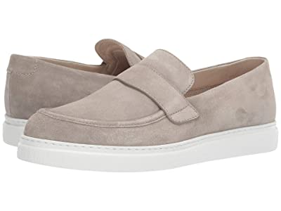 Canali Loafer with Tennis Sole (Stone Suede) Men