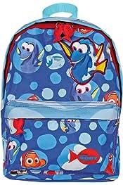 Perletti Mochila con ruedas y correas para con estampado de Nemo y Dory 31 x 23,5 x 13 cm Trolley de ni/ño Buscando a Dory Disney