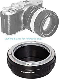Fotasy Premier Konica AR Lens to Fuji X Lens Adapter, Compatible with Fujifilm X-Pro1 X-Pro2 X-E1 X-E2 X-E3 X-A5 X-M1 X-T1 X-T2 X-T3 X-T10 X-T20 X-T30 X-H1