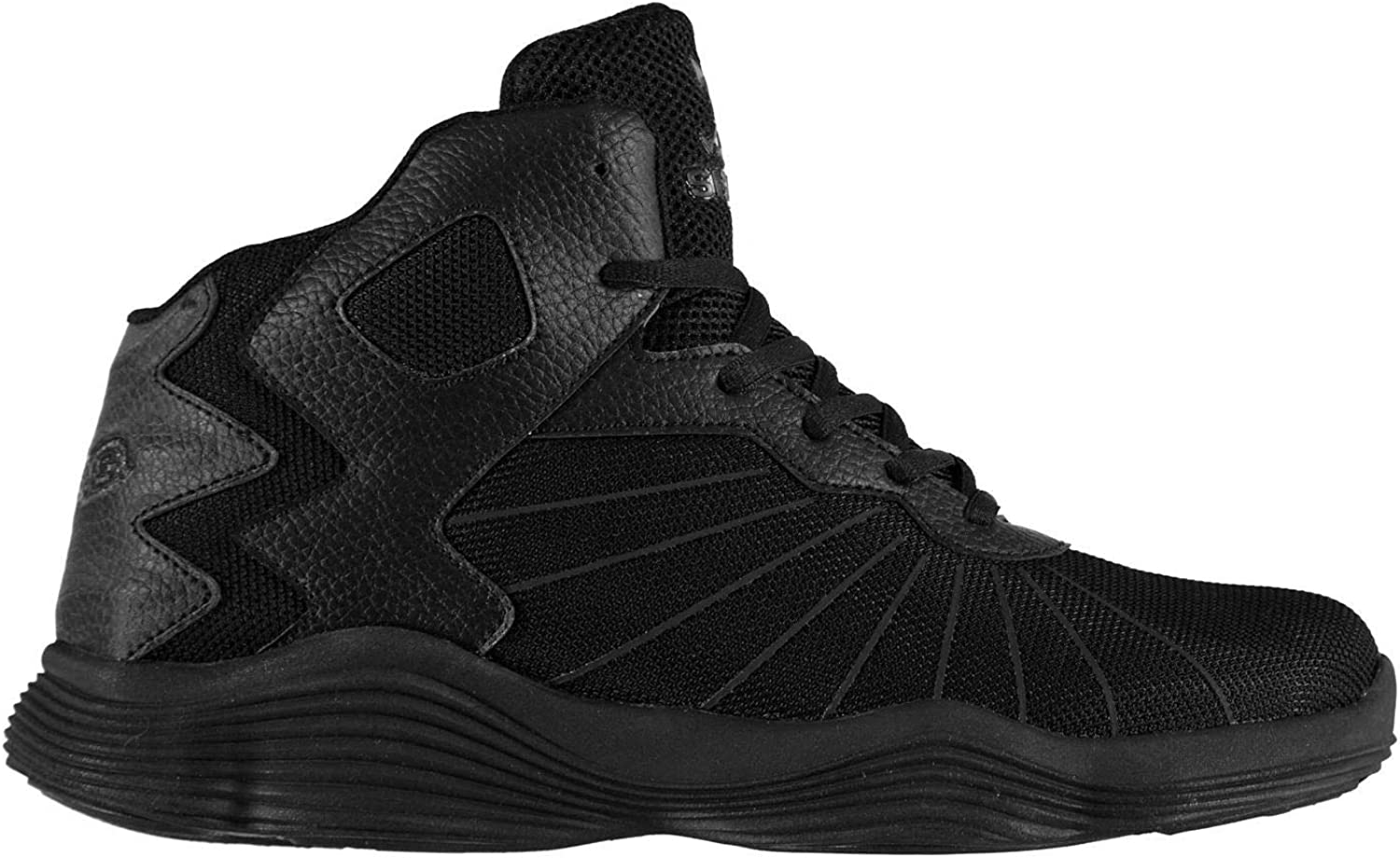 Shaq Half Court shoes Mens Black Trainers Sneakers Footwear