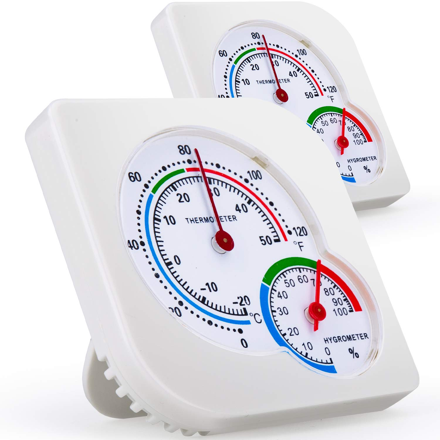 Free shipping 2-Pack Indoor Ranking TOP3 Thermometers Humidity Hygrometer Monitor