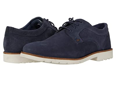 Rockport Sharp and Ready 2 Plain Toe (New Dress Blues Suede) Men