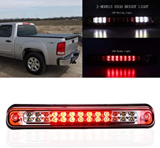 for 1988-2000 Chevrolet Chevy Silverado Tahoe Blazer/GMC Yukon Sierra/Cadillac Escalade LED Third 3rd Brake Light Cargo Light High Mount Lamp Tail Light