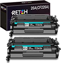 RETCH Compatible Toner Cartridge Replacement for HP 26A CF226A 26X CF226X for HP Laserjet Pro M402dn M402n M402d M402dw HP Laserjet Pro MFP M426dw M426fdw M426fdn Printer (2 Pack)