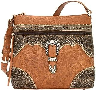 American West Leather Shoulder Bag Purse