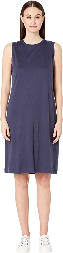Fluid Tencel Shift Dress