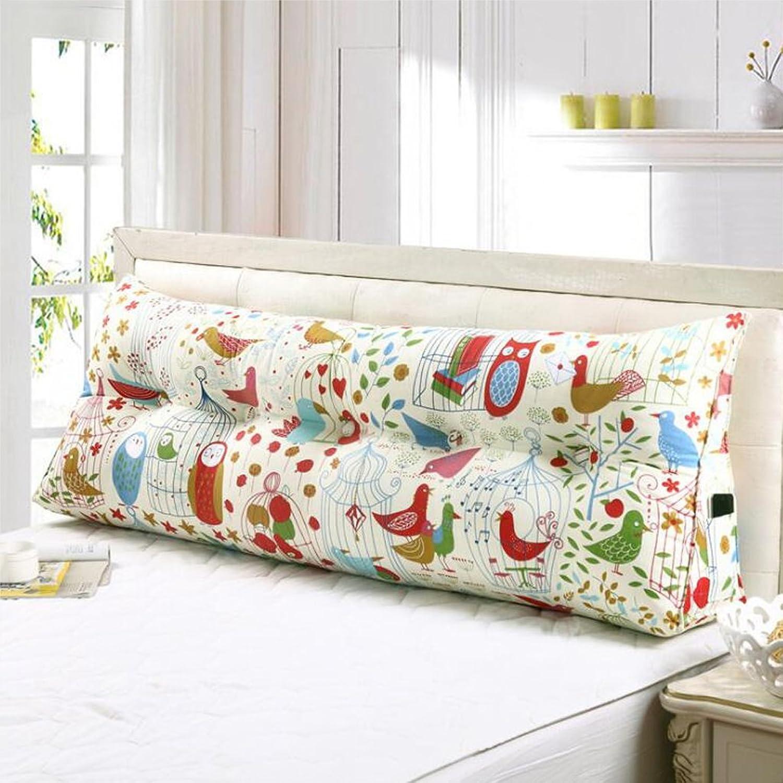 DNSJB Grands oreillers triangulaires, Grand Dos détachable de Voiture de Bureau de Sofa de Sofa, pour l'oreiller de Lecture de Dossier Lombaire (Taille   70cm)