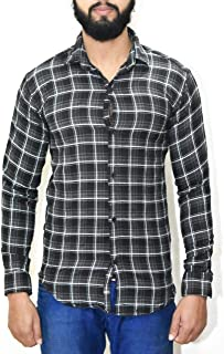 BLACKPULL Men's Cotton Slim Fit Casual Shirt for Boys