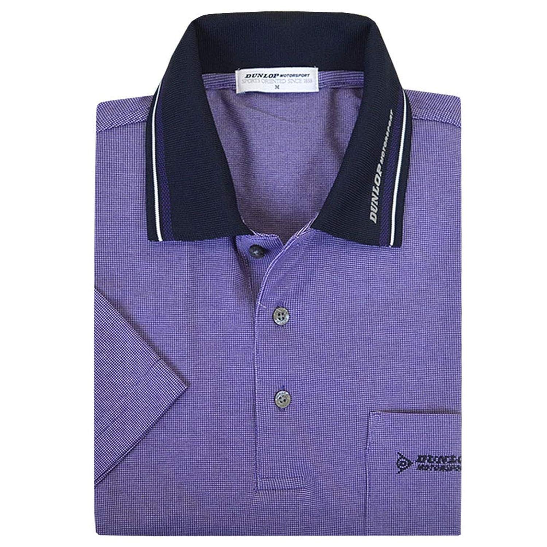 ポロシャツ メンズ 半袖 DUNLOP(ダンロップ) 変形鹿の子 男性用 「ギフトBOX入り」 fo-193d051h