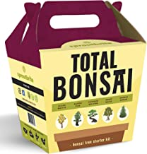 Sproutbrite Bonsai Tree Starter Kit - The 5 Easiest Trees to Grow from Seed Indoors - Complete Gardening Set with Comprehensive Instructions - DIY Mini Plant Growing Kit - Unique Gardening Gift