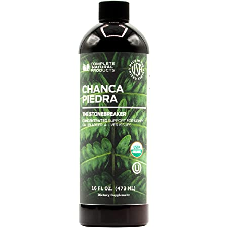Organic Chanca Piedra Concentrate & Extract 16oz - Phyllanthus Niruri - Natural Liquid Stone Breaker & Crusher Tincture