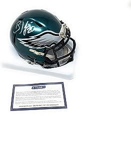 Brian Dawkins Philadelphia Eagles Signed Autograph Speed Mini Helmet Helmet Steiner Sports Certified