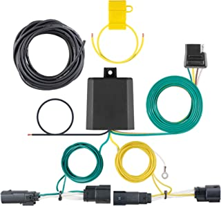 CURT 56351 Vehicle-Side Custom 4-Pin Trailer Wiring Harness, Fits Select Ford Fusion