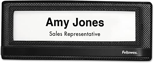 fellowes name plate template
