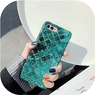Huawei社mate10pro、02のためにグリッターを見せびらかす色の魚の鱗電話ケースcoque Huawei社P30 P20 10プロの名誉のために9 10シェルパターン柔らかい保護裏表紙、