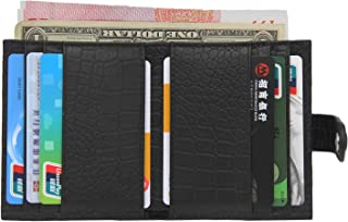 Wallets for Men RFID Wallets for Women Handmade Leather Wallets Slim, Bifold, and Minimalist Mens Wallet with 14 Card Slots Best Gift for Men/Him/Boys