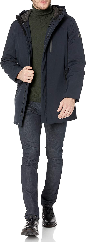 TAHARI Men's サービス Long Sleeve <セール&特集> Hooded Commuter Jacket