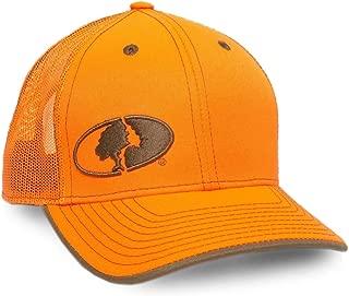 Mossy Oak Embroidered Logo Blaze Mesh Back Hunting Cap