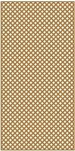 4 x 8 cedar lattice panel