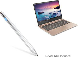 Lenovo Yoga 730 (13 in) Stylus Pen, BoxWave [AccuPoint Active Stylus] Electronic Stylus with Ultra Fine Tip for Lenovo Yoga 730 (13 in) - Metallic Silver