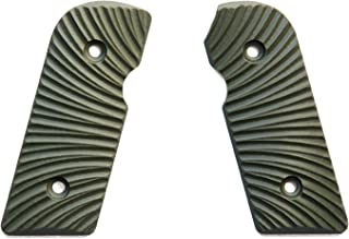 E Gun Grips H5-J6-2 Beautiful Custom G10 Tactical Pistol Grips for Kimber Solo Handguns, Olive