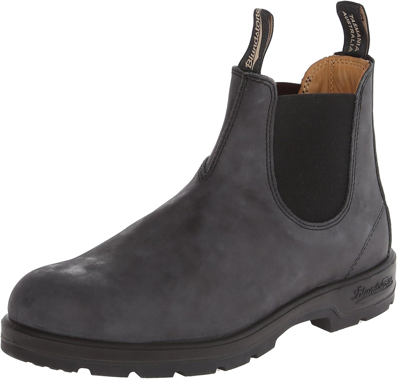bluendstone Men's 587 Round Toe Chelsea Boot