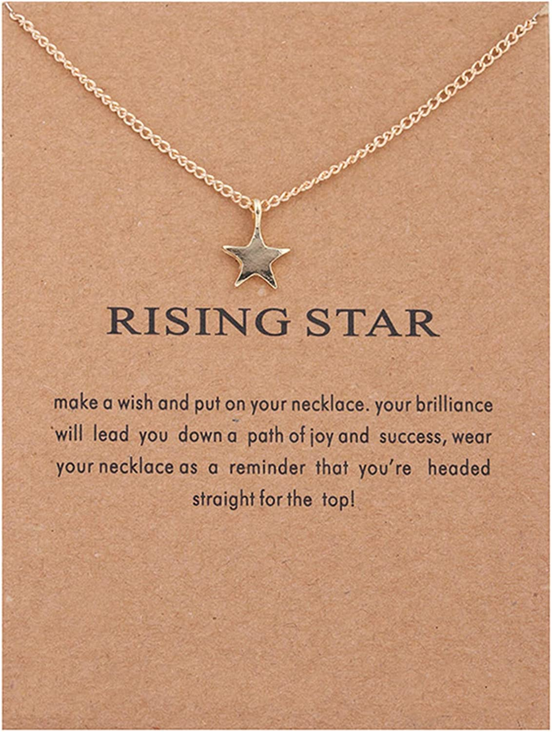 Friendship Couple Necklace Pendent Chain for Women Girls Gold Jewelry Gift