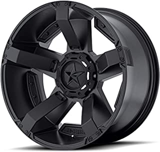 XD SERIES BY KMC WHEELS XD811 ROCKSTAR II Matte Black Wheel with Painted and Chromium (hexavalent compounds) (20 x 12. inches /0 x 72 mm, -44 mm Offset)