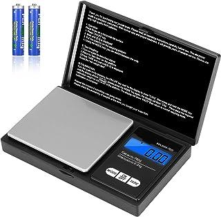 Vineco Cuisine de Précision 700 g/0,01 g, Poche avec Écran LCD Sensible, Petite Balance Digitale pour Bijoux en Acier Inox...