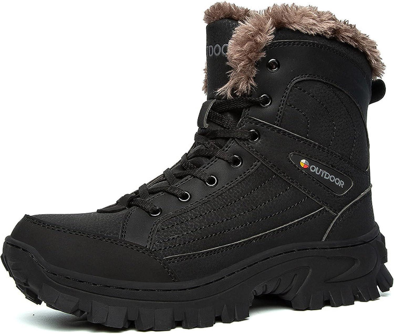 Zhousensen Men's Genuine Free Shipping Snow Boots Outdoor Travel Velvet Padded Plus Co Max 65% OFF
