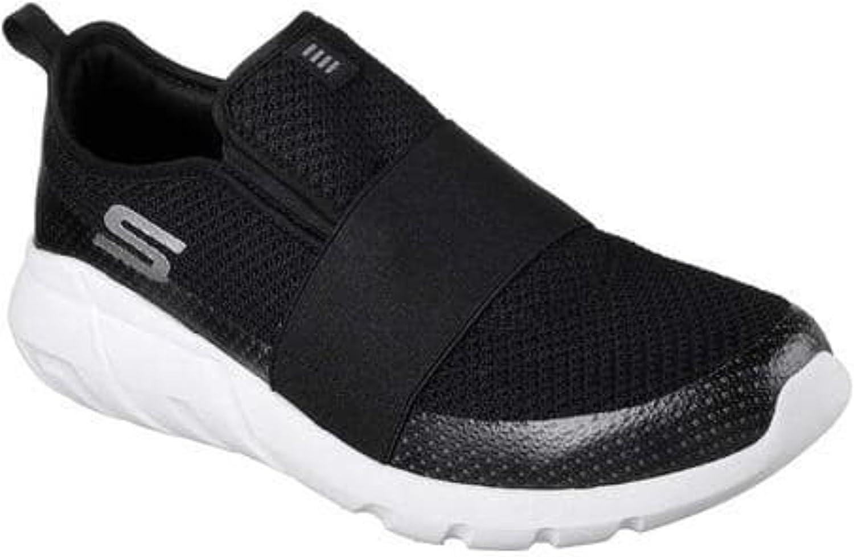 Skecher herrar Dilley Slip on Sport skor (10.5 D (M) (M) (M) US, svart  vit)  bra kvalitet