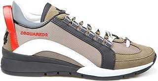 Luxury Fashion   Dsquared2 Men SNM050511702M1628 Multicolor Leather Sneakers   Autumn-winter 20