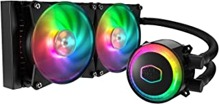 Cooler Master MasterLiquid ML240R Addressable RGB All-in-one CPU Liquid Cooler Dual Chamber INTEL/AMD Support Cooling (MLX...