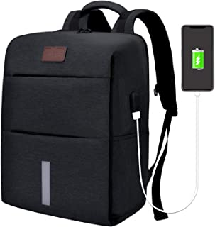 SHINETAO Laptop Backpack,Business Anti Theft Travel Backpack with USB Charging
