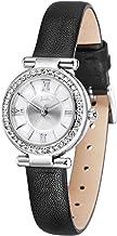 Barbie バービー プリンセスシリーズ ファッション 素敵なラインストー文字盤 本革バンド レディース腕時計