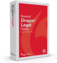 $760 » Dragon Legal Group 15.0, 1-User, Dictate Documents and Control your PC – all by Voice, [PC Disc]