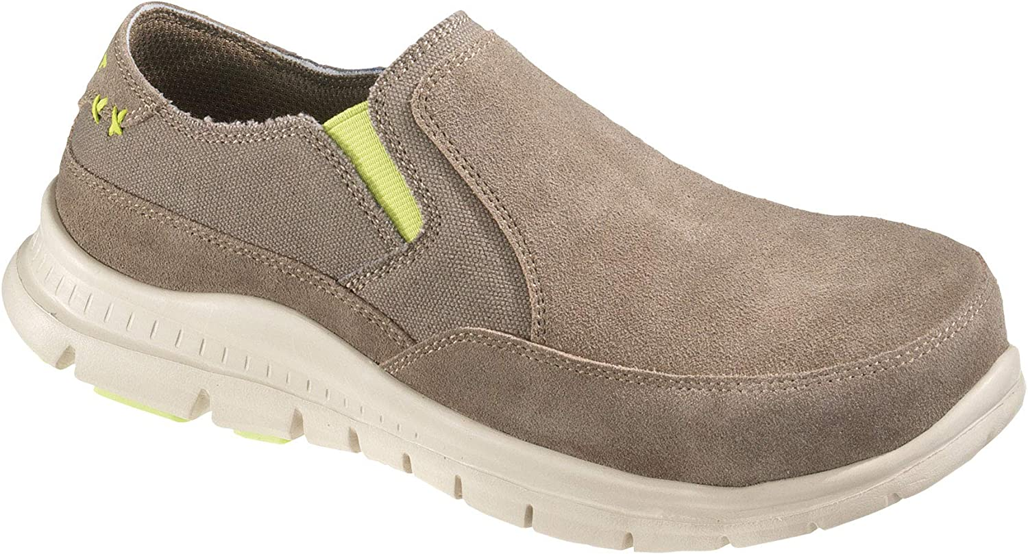 Hytest Women's Canvas Color, Steel Toe, EH, Casual Slip On