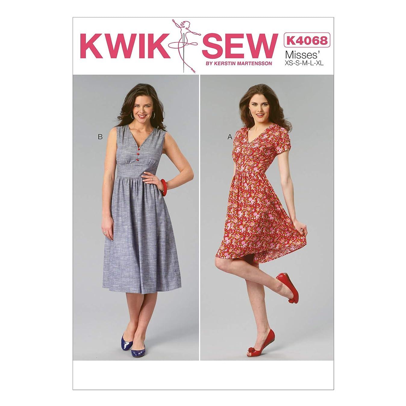 KWIK-SEW PATTERNS K4068 Misses' Dresses n6546677654