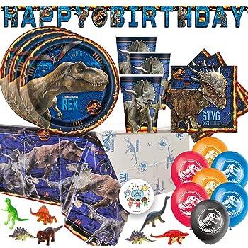 Jurassic World Fallen Kingdom Birthday Party Supplies 2 Pack tablecovers BirthdayExpress