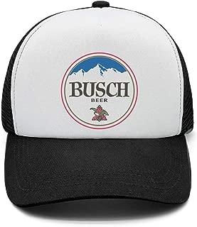 Men's Vintage Trucker Hat Busch-Beer-Sign- Adjustable Sun Cap